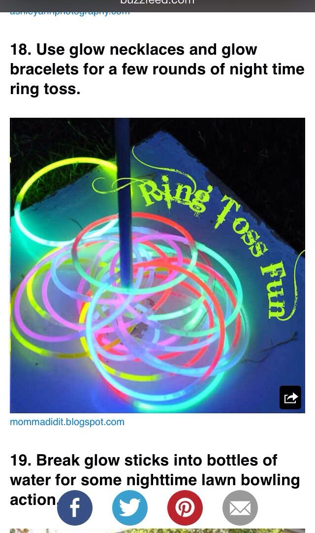 Summertime Fun Nighttime Game For Kids! #Various #Trusper #Tip