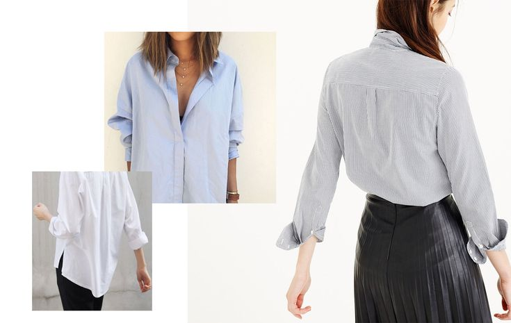 Рубашка бойфренда: как выбрать и с чем носить - Shoptema.ru