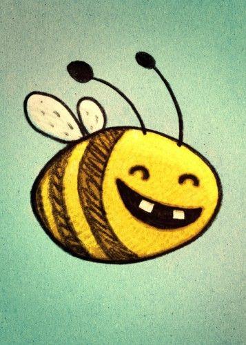 bee honeybee  Marek MaComiX Cerny (macomix) Illustration Comic