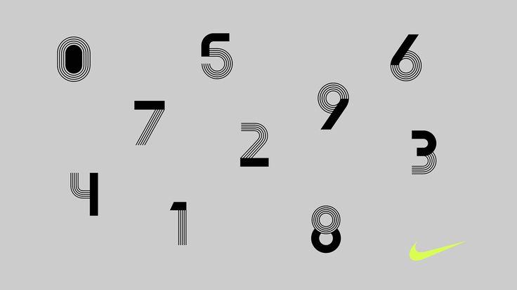 Nike custom typeface — Hans Christian Øren