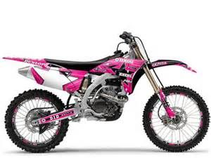 Pink Dirt Bike... probably my dream dirt bike.