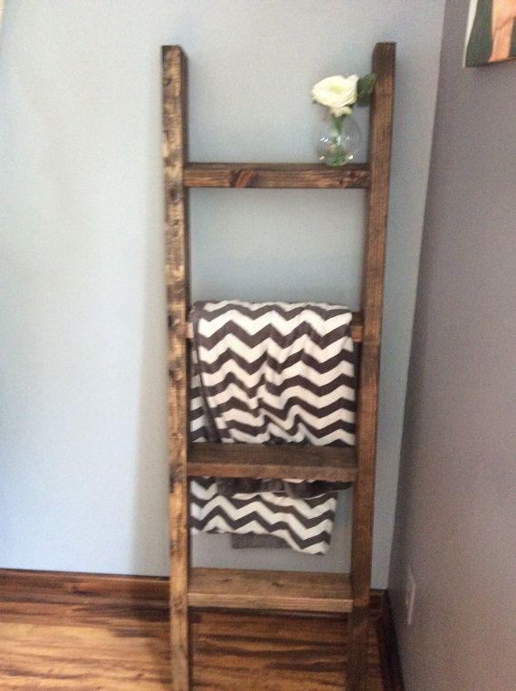 17 Best ideas about Decorative Ladders on Pinterest   Ladders, Wooden ladders and Old ladder