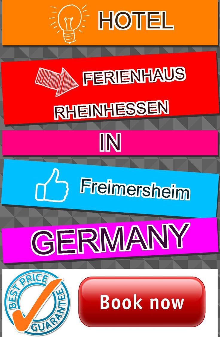 Hotel Ferienhaus Rheinhessen in Freimersheim, Germany. For more information, photos, reviews and best prices please follow the link. #Germany #Freimersheim #travel #vacation #hotel