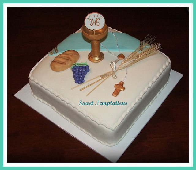 First Communion Cakes for Boys | boy s first communion cake