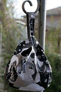 knot bag, tuto pour la réalisation de la version grab bag