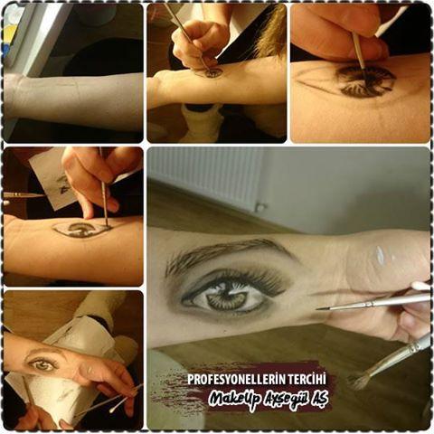 Göz Makyajı Çalışması - How To Draw Eye Makeup On Your Arm! Profesyonel Makyaj, Kalıcı Makyaj Uzmanı & Eğitmeni Ayşegül AŞ #makyöz #ayşegülaş #makyaj #kadın #kalıcımakyaj #kaşmakyajı #gözmakyajı #gelinmakyajı #profesyonelmakyaj #porselenmakyaj #günlükmakyaj #kaştasarım #kirpik #gelin #düğün #nilüfer #bursa #fsm #güzellik #uzman #bursanilüfer #makyajfircasi #eyeliner #makyajkutusu #tv #ruj #far #ipekkirpik #makyajmalzemesi #makyajblogu