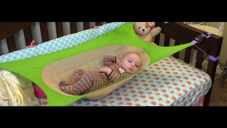 Crescent Womb: Infant Safety Bed - cool portable, light-weight baby hammock.