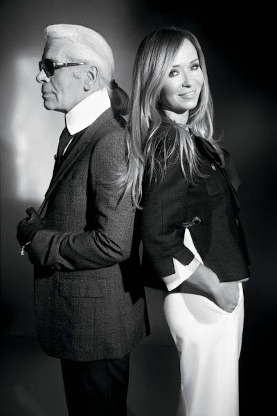 Karl Lagerfeld protégée, Joanna Przetakiewicz, launches La Mania at Harrods