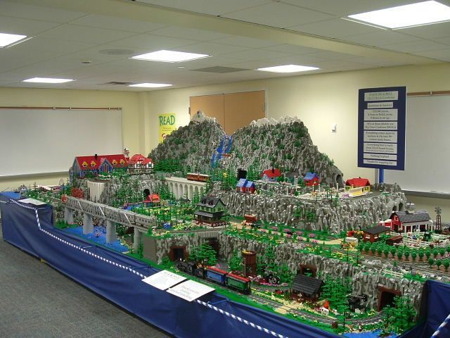 train mountain september 2008 a lego creation by brian darrow