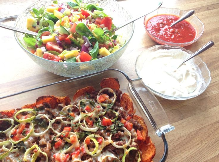 lindastuhaug   Søtpotet nachos - sunt&smakfullt! - lindastuhaug