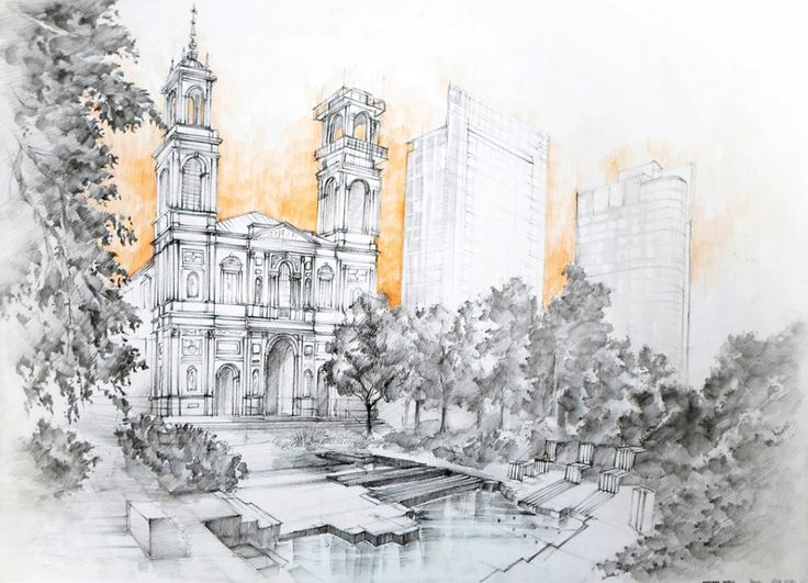 Ujęcie z architekturą 3