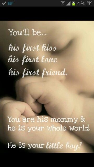 Little Boys to Mommys (jaxon) <- Previous pinner, had to post this just because it already had his name :) <3