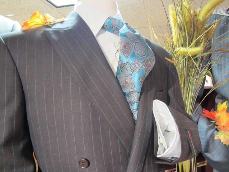 Suit and shirt from David's Master Collection, tie by Zegna. www.davelleclothiers.com