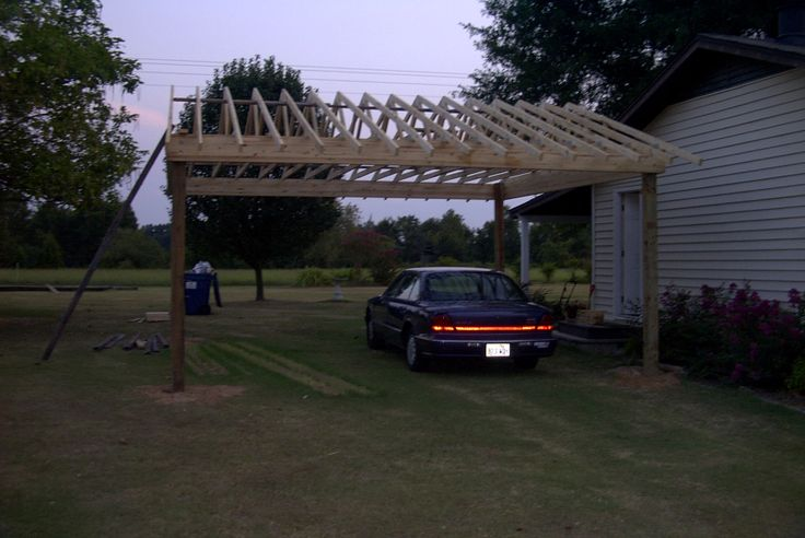 17 best ideas about free standing carport on pinterest for Free standing garage
