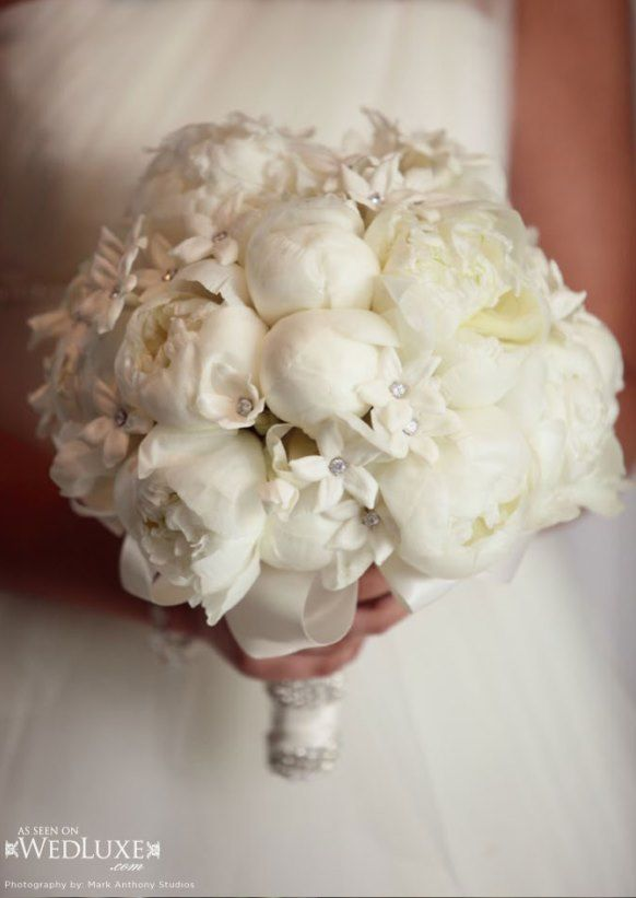 Stylish White Weddings