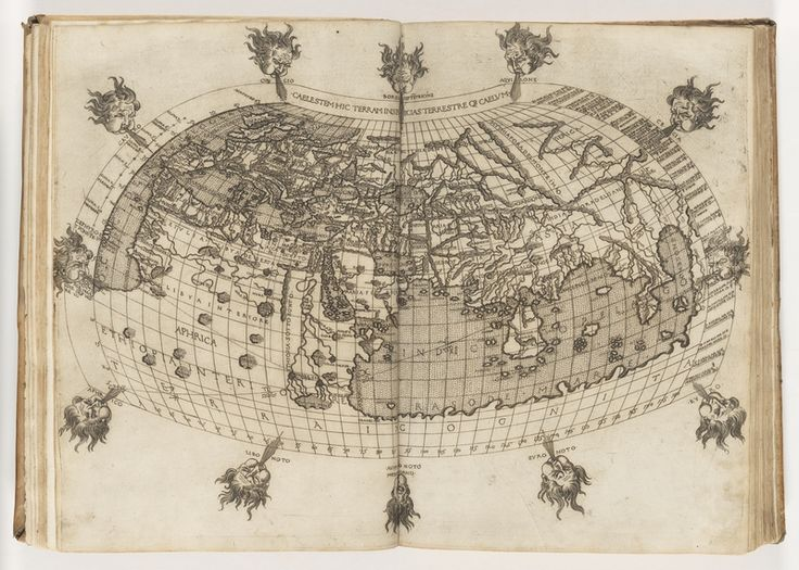 The world through the eyes of Francesco Berlinghieri in 1482, featured in our 'European Visions of Antarctica' Out of the Vaults event.