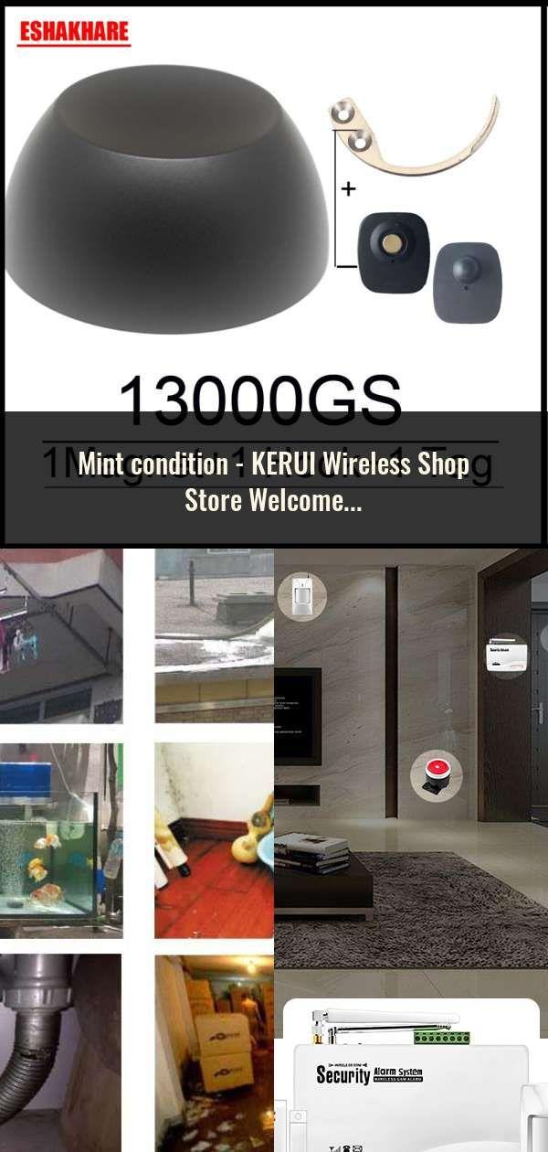 Kerui Wireless Shop Store Welcome Door Entry Chime Smart Doorbell