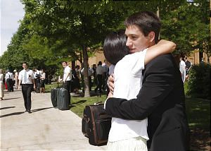 A mother's poem for dropping her son off at the MTC
