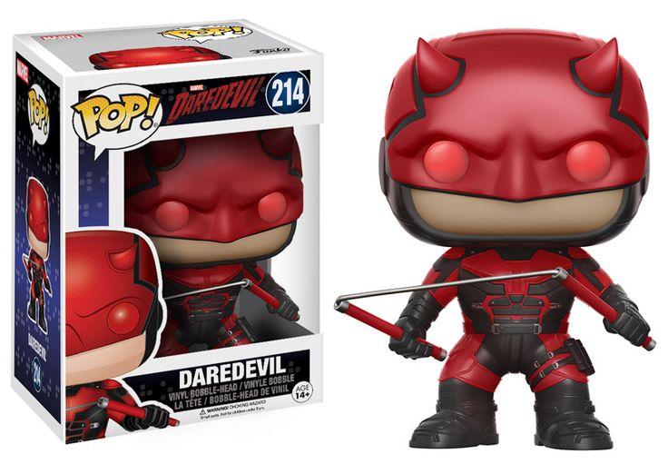 Jessica Jones and Daredevil Season 2 Pop Vinyls - POPVINYLS.COM