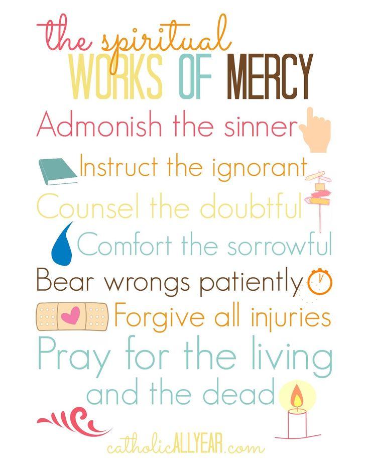 Catholic All Year: The Spiritual Works of Mercy