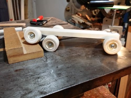This is the prototype frame for a truck I plan to produce.