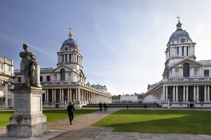 Old Royal Naval College, Greenwich on AboutBritain.com http://www.aboutbritain.com/OldRoyalNavalCollege.htm