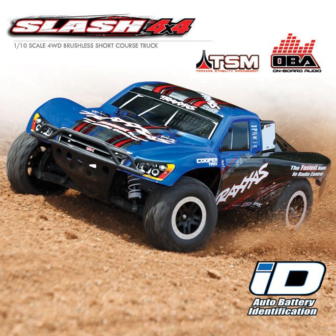 Traxxas® Slash VXL Brushless 4X4 RTR