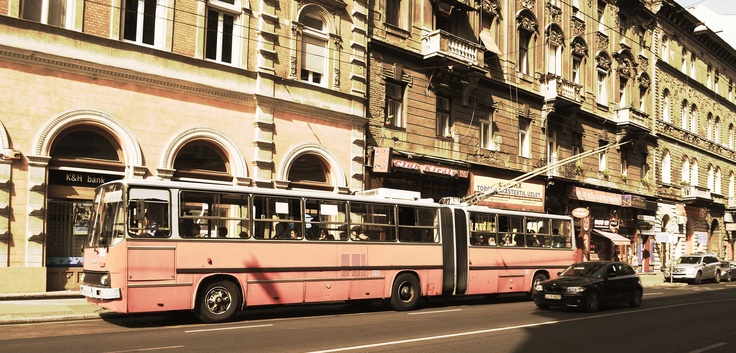 Coach in Budapest