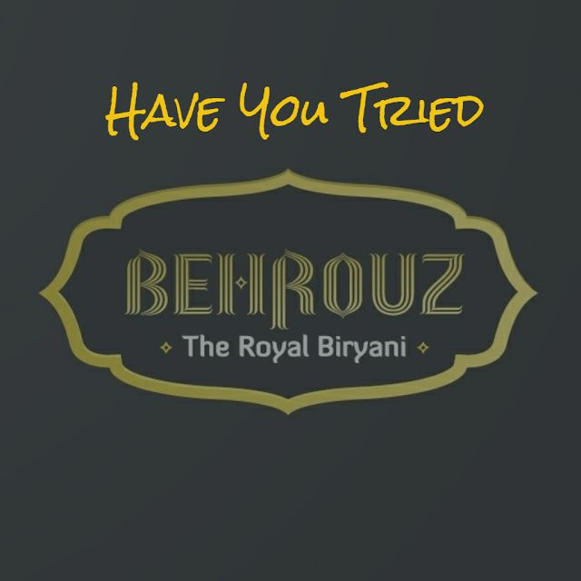 When The Muse Strikes!: Have You Tried Behrouz - The Royal Biryani