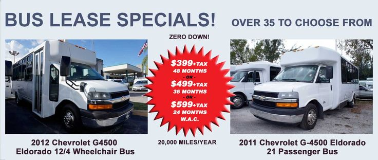 Bus Lease Specials