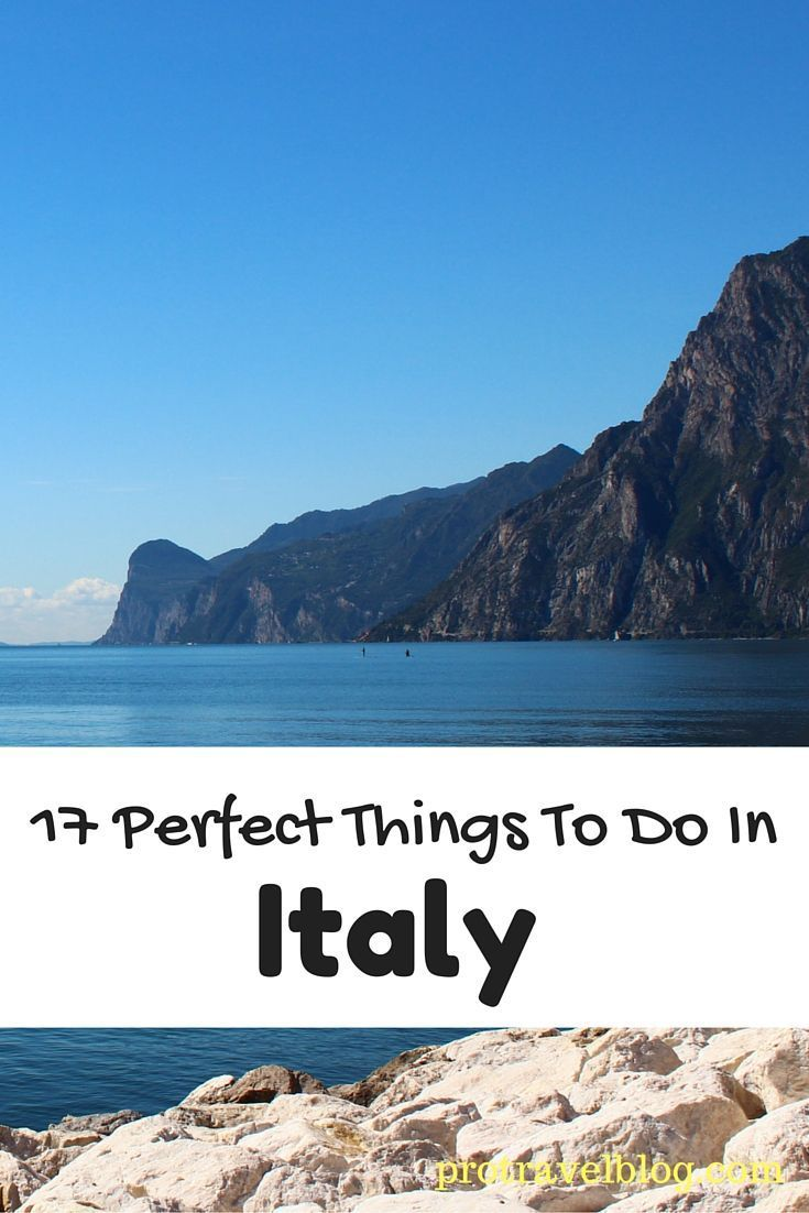 With Italy being such a big country, it's hard to know what to do! Here's my list of the 17 best things to do in Italy!