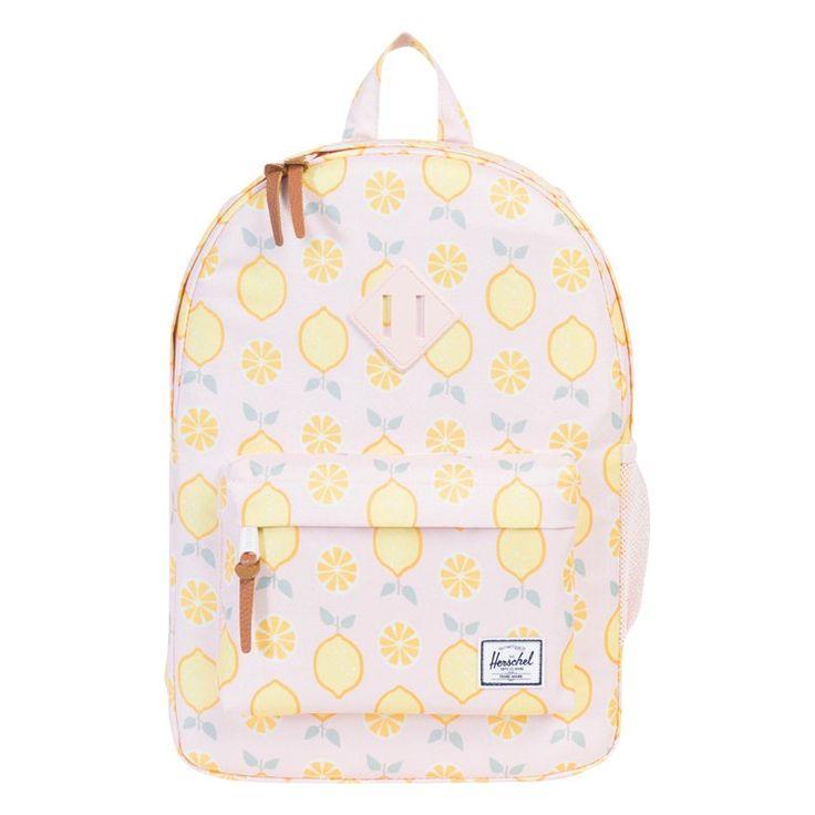Herschel Heritage Youth Backpack, Lemon Drop