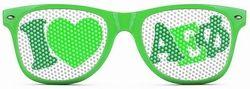 Alpha Epsilon Phi Wayfarer Style Lens Sunglasses SALE $12.95. - Greek Clothing and Merchandise - Greek Gear®