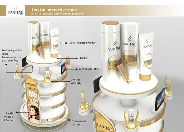 P&G Pantene Design for innovation concepts on Behance