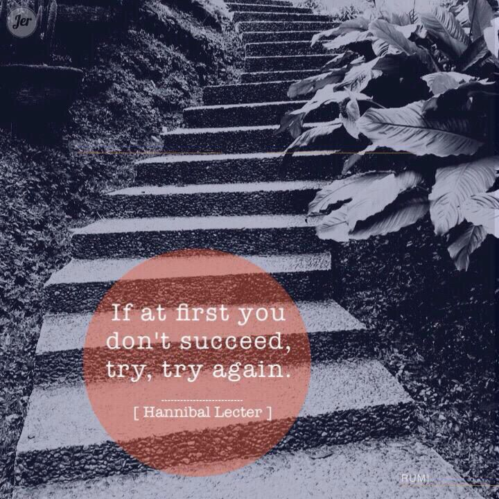 Try, Try again.