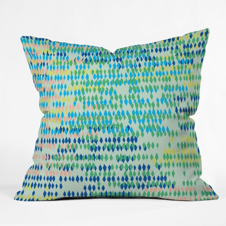 Bangalore Cool Outdoor Throw Pillow Khristian A Howell