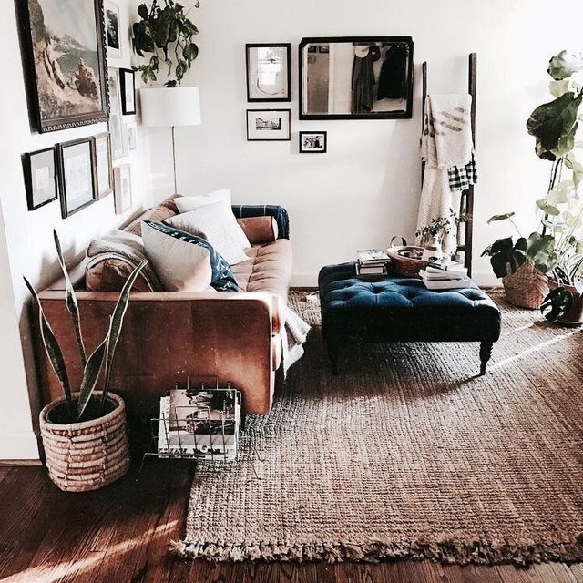 Urban Wohnzimmer Im Materialmix