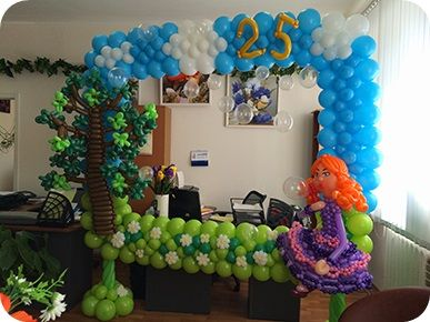 17 best images about decoraciones con globos on pinterest - Lozano decoraciones ...