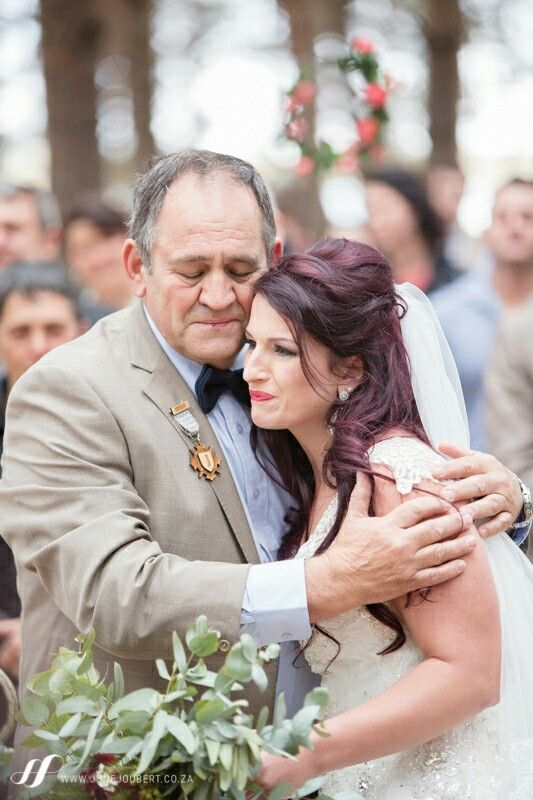 special dad and bride moment