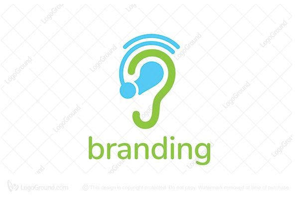 $150 Logo for sale: Hearing Aid Logo