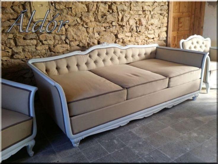 Kárpitozott bútor, felújított stílbútor