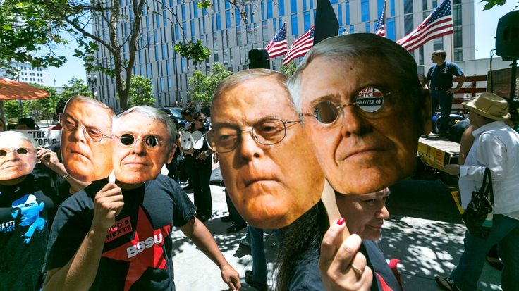 "ROLLING STONE: ""The super-rich have become... possibly the most powerful private interest group in America,"" says Mayer  http://www.rollingstone.com/politics/news/author-jane-mayer-on-how-the-koch-brothers-have-changed-america-20160214"