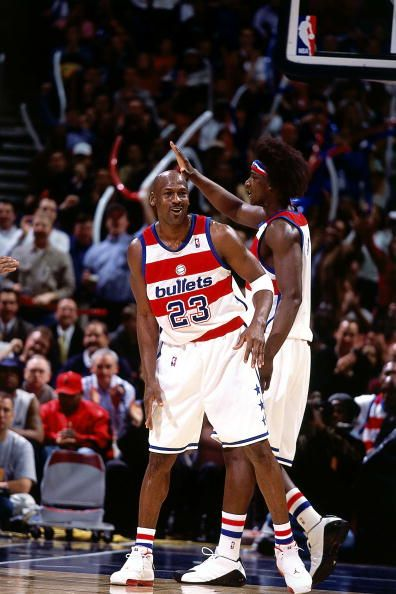 NBA Hardwood Classics 2002-03, Michael Jordan, Washington Wizards.