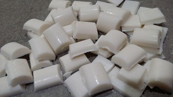 Dentifrice solide en unidose à l'huile de coco