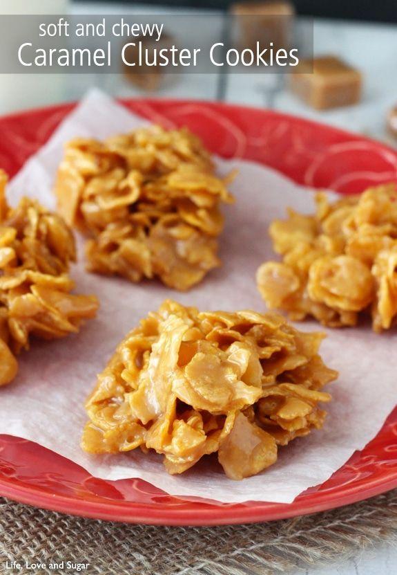 Caramel Cluster Cookies