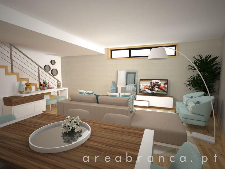 Salão | Living Room #Areabranca #SalaEstar #SalaJantar #LivingRoom #DiningRoom #Aparador #StorageSystems  #Decor #Pillows #Poufs #Sofa #SideBoards #TvCabinetes #MovélTv #ArmChair #Rugs #Tables #MesasJantar #Diningtables