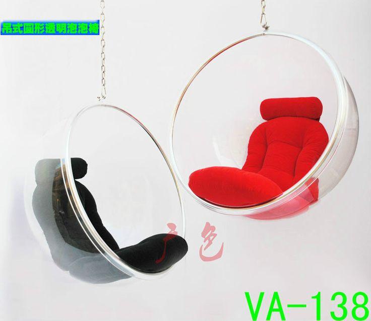Завод прямой творческий стул пузырь Bubble Chair Болл Председатель персонализированные прозрачного акрилового висит кресло качалка - Taobao