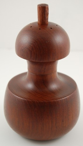 VERY RARE! Dansk Peppermill Mill IHQ JHQ Quistgaard Teak Wood Salt Pepper  - $849