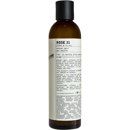 Le labo rose 31 shower gel packaging para liquidos - Rose 31 shower gel ...