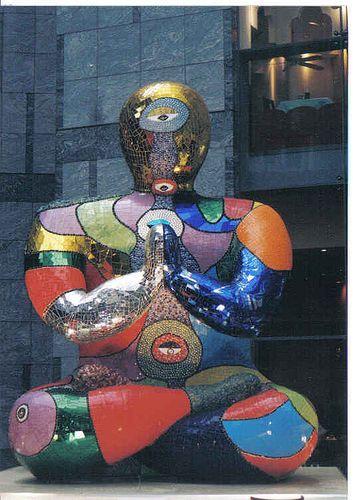 NIKI DE SAINT PHALLE http://www.widewalls.ch/artist/niki-de-saint-phalle/ #sculpture